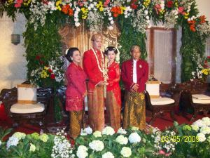 anne n rangga wedding day